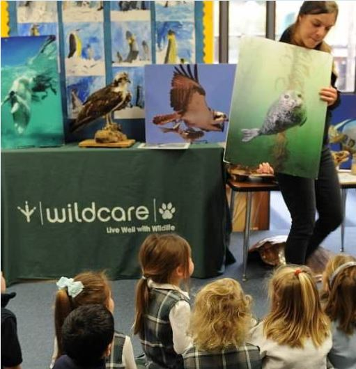 WildCare Nature Van program. Photo by Tory Russell