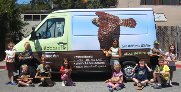 WildCare's Nature Van. Photo by Alison Hermance