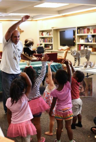 A WildCare Nature Van Program. Photo by Tory Russell