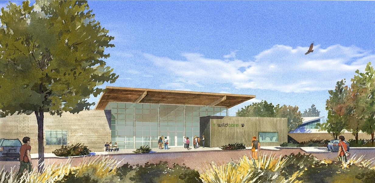 Artist's rendering of the future new face of WildCare